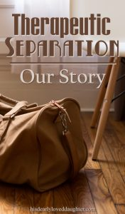 Therapeutic Separation - Our Story