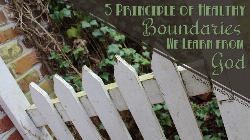 In this second part of the Biblical Boundaries series, we'll explore 5 principles we can learn about boundaries from observing God's boundaries in the Bible.