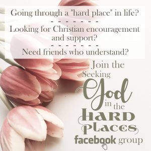 Seeking God in the Hard Places Facebook Group