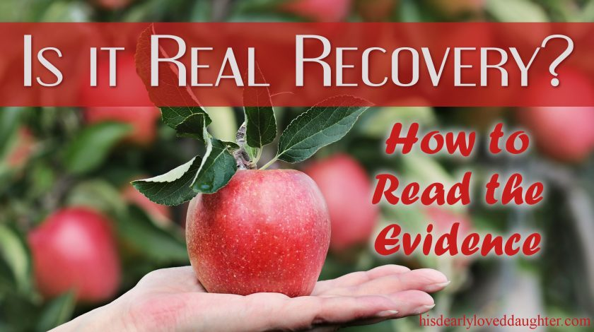 Is It Real Recovery - How to Evaluate the Evidence