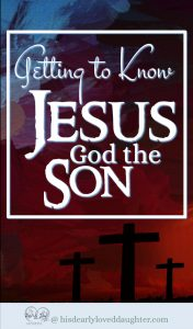 Getting to Know Jesus God the Son