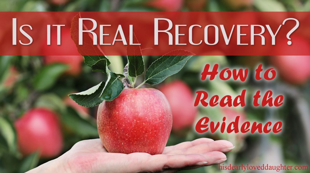Is it Real Recovery - How to Read the Evidence