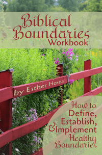 Biblical Boundaries Workbook Cover