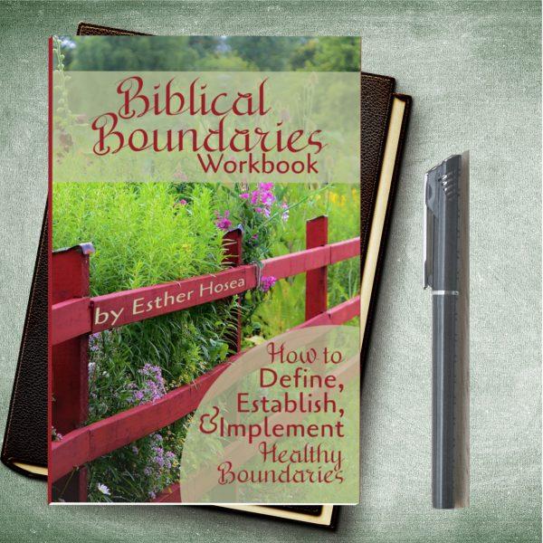 Biblical boundaries workbook