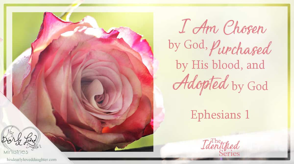 I Am Chosen by God, Purchased by His Blood, and Adopted by God