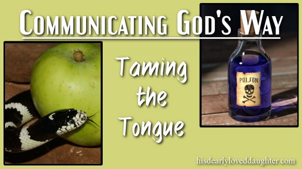 Taming the Tongue Cover Image